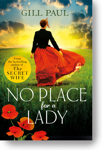 No Place for a Lady by Gill Paul